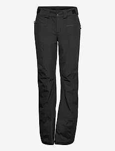 W PRESENT PNT - skiing pants - tnf black