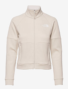 W AT FULL ZIP JKT - jakker og regnjakker - vintage white heather