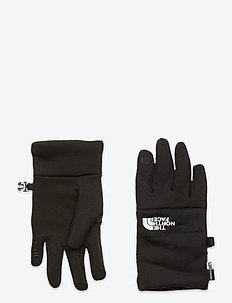 Y RECYCLED ETIP GLV - hoeden & handschoenen - tnf black