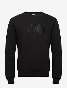 M DREW PEAK CREW - tops - tnf black