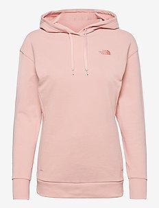 W PUD HOODIE - hoodies - evening sand pink