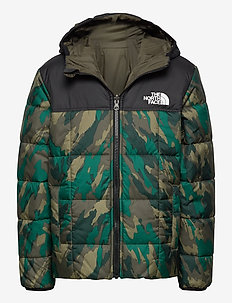 B REVERSIBLE PERRITO JACKET - puffer & padded - evergreenmountaincamoprnt