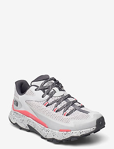 W VECTIV TARAVAL - hiking shoes - micro chip grey/fiesta red