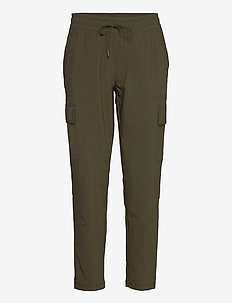W NSW CARGO PANT - friluftsbukser - new taupe green