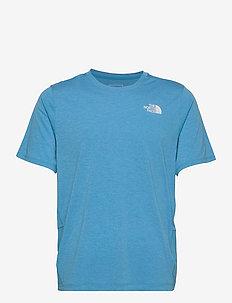 M BRIDGER S/S - t-shirts - meridian blue heather