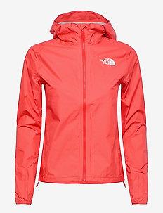 W FRST DN PCKBL JKT - training jackets - horizon red