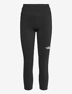W MOVMYNT CROP TIGHT - running & training tights - tnf black