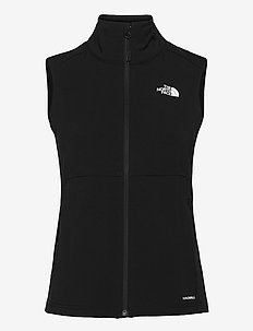 W APEX NIMBLE VEST - puffer vests - tnf black