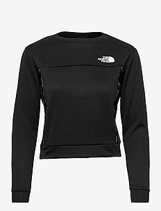 W MA PULLOVER - EU - fleece - tnf black