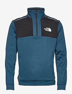 M MA 1/2 ZIP - half zip-tröjor - monterey blue