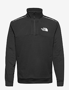 M MA 1/2 ZIP - half zip - tnf black