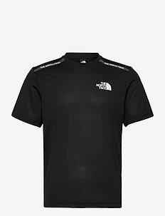 M MA S/S TEE - sportstopper - tnf black