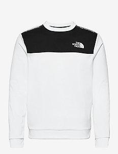 M MA CREW - sweats basiques - tnf white