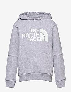 Y DREW PEAK LIGHT P/O HOODIE - hoodies - tnf light grey heather