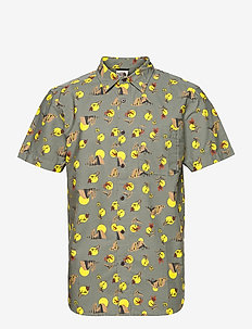 M S/S BAYTRAIL SHRT - chemises oxford  use default - agave green valley sun print