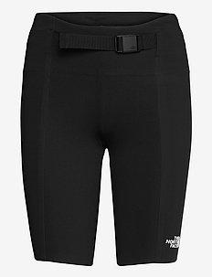 W WAIST PACK SHORT - wandel korte broek - tnf black