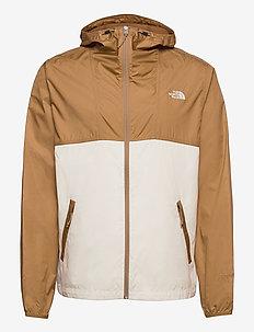 M CYCLONE JACKET - vestes d'extérieur et de pluie - utility brown-vintage white
