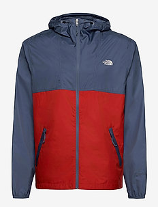 M CYCLONE JACKET - vestes d'extérieur et de pluie - vintage indigo-rococco red