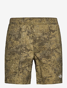 M CLASS V PULL ON - wandel korte broek - military olive cloud camo wash print
