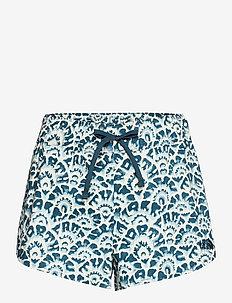 W CLASS V MINI SHORT - wandel korte broek - monterey blue ashbury floral print