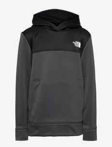 B SURGE P/O HDY - hoodies - asphltgr/tnfblk