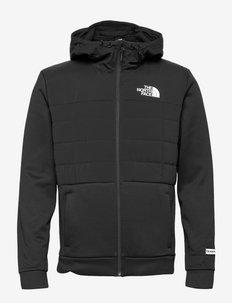M MA INSL JKT - EU - vestes d'extérieur et de pluie - tnf black