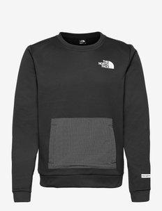 M MA CREW - EU - fleece - tnf black