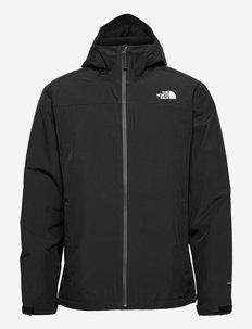 M DRYZ FL INS JKT - vestes d'extérieur et de pluie - tnf black