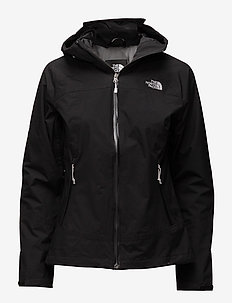 W STRATOS JACKET - TNF BLK/TNF BLK