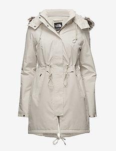 W ZANECK PARKA - insulated jackets - vintage white