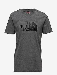 M S/S EASY TEE - kortärmade t-shirts - tnfmdgyhtr(std)