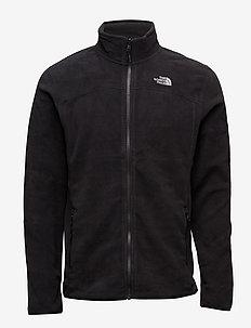 M 100 GLACIER FULL ZIP - EU - fleece - tnf black
