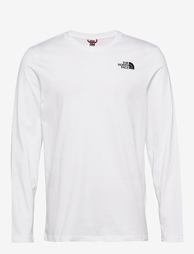 M L/S EASY TEE - t-shirts à manches longues - tnf white