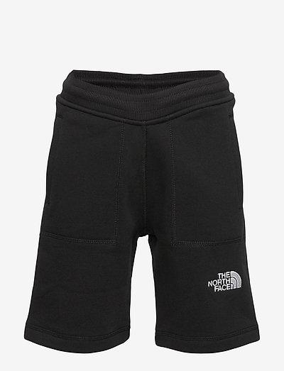 Y FLEECE SHORT - sportshorts - tnf black-tnf white