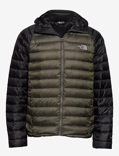 M TREVAIL HOODIE - vestes d'extérieur et de pluie - new taupe green-tnf black
