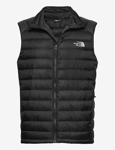 M TREVAIL VEST - vestes d'extérieur et de pluie - tnf black-tnf black
