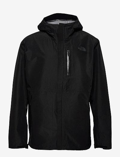 M DRYZL FL JKT - vestes d'extérieur et de pluie - tnf black