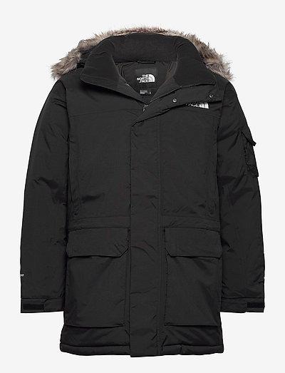 M REC MCMURDO JKT - vestes d'extérieur et de pluie - tnf black