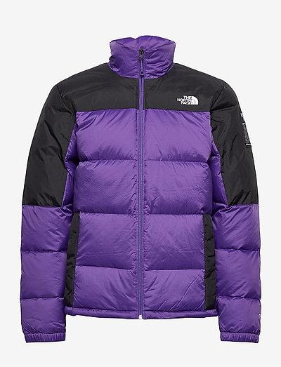 M DIABLO DWN JKT - jakker og regnjakker - peak purple/tnf black