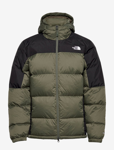 M DIABLO DWN HOOD - vestes d'extérieur et de pluie - thyme/tnf black