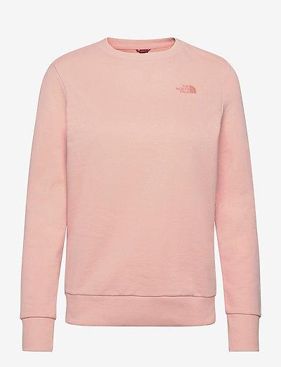 W PUD CREW - sweatshirts - evening sand pink