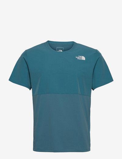 M TRUE RN S/S SHRT - t-shirts - storm blue