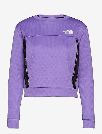 W MA PULLOVER - EU - fleece - pop purple