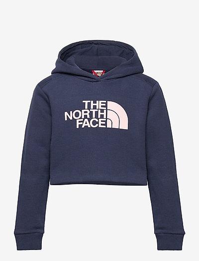 G DREW PEAK CROPPED P/O HOODIE - hoodies - tnf navy