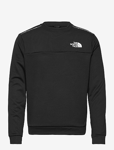 M MA CREW - sweats basiques - tnf black