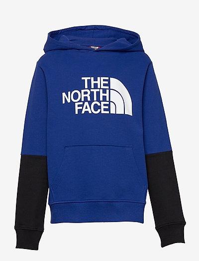 Y DREW PEAK LIGHT P/O HOODIE - hoodies - bolt blue