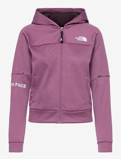 W MA FZ - EU - fleece - pikes purple