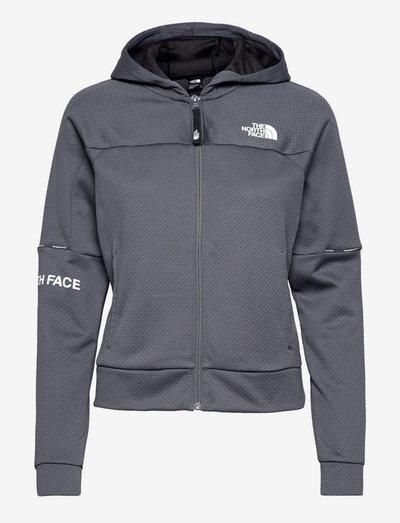 W MA FZ - EU - fleece - vanadis grey