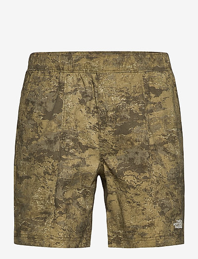 M CLASS V PULL ON - tights & shorts - military olive cloud camo wash print