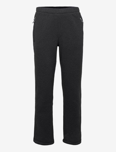 M GL PANT - pantalon de randonnée - tnf black hthr